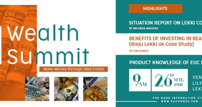 Euc Homes Third Wealth Summit May 26, 2018