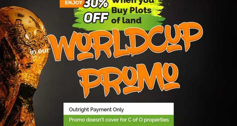 1 Day To End Of Worldcup 30% Price Slash