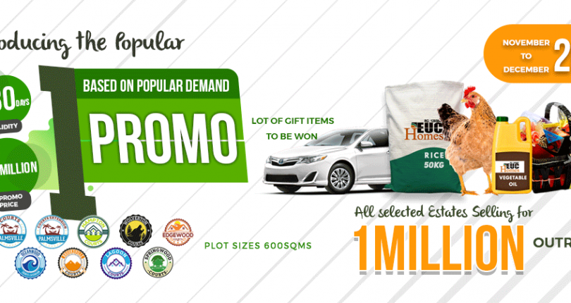 EUC Homes 1 Promo…1m naira per Plot