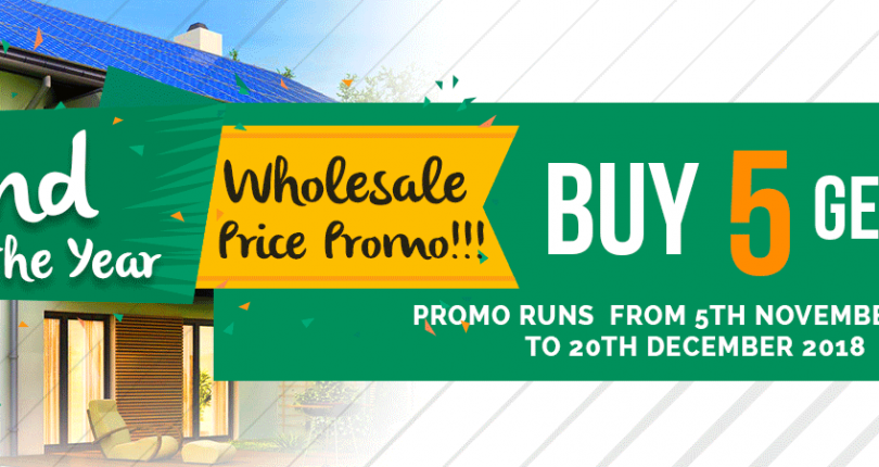 EUC Homes End of the Year Whole Sale Promo