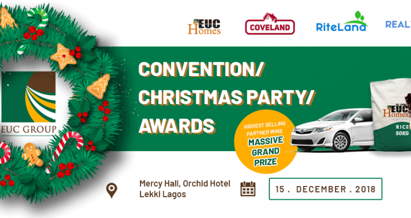 EUC Homes 2018 Annual Convention/Christmas Party/Awards